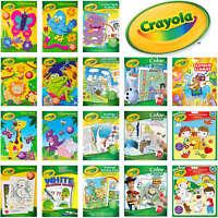 Crayola Children Books - Variety of Kids Colouring Activity and Sticker Books