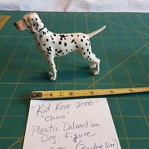 """Plastic Dalmatian Dog Figure Kid Kore 2000 3.5"""" Tall"""
