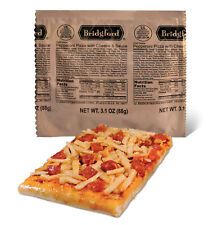 """NEW 6/2018 - Bridgford """"Ready to Eat"""" MRE Pepperoni Pizza with Cheese & Sauce"""