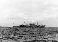 6x4 Gloss Photo ww981 Normandy D-Day Beach USS Bayfield