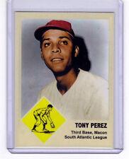 Tony Perez '63 Macon Peaches, Cincinnati Reds Hall of Famer #77