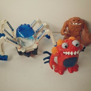 Imaginext Lot of 3 Clayface With Hammer Moon Rover & 1 Other Mattel