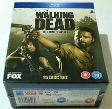 The Walking Dead - Seasons 1-4 Blu-Ray 15 Discs, New & Sealed