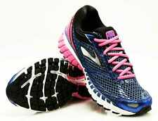 Brooks Running Shoes Aduro 4 Spectrum Blue Pinkglo/Navy Pink 18 Size 40