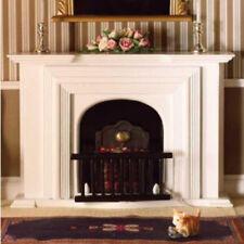 Dolls House Miniature 1:12th Scale Large White Georgian Fireplace
