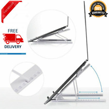 Adjustable Laptop Stand Notebook Table Folding Portable With Cooling Desk Holder