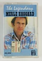 The Legendary Merle Haggard Cassette Tape 1983 Capitol Records