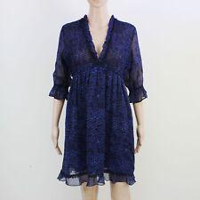 Miss Selfridge Womens Size 12 Purple Floral Lightweight Dress