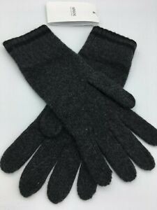 ARMANI 100% CASHMERE GLOVES, D/Grey,  Size:Medium,  RRP:£180!  NEW WITH TAGS