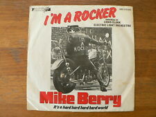 EP  SINGLE 7 INCH MIKE BERRY I'M A ROCKER IT'S A HARD HARD HARD WORLD