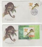Australia 1996 joint issues with Indonesia covers inc miniature sheet
