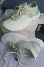💕💕💕 JOANNE MERCER  BALANCE Fabric BOUNCE WHITE SILVER 39 or 8 RUNNING SHOES💟