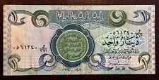 => IRAQ ~~ 1 DINAR ~~ P69 ~~1978 ~~ ORIGINAL VF+ <=