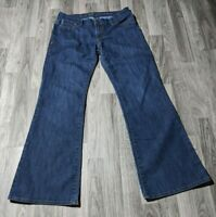 !It Jeans Womens Size 30 Diva Embroidered Denim Blue Jeans