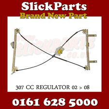 PEUGEOT 307CC CABRIO WINDOW REGULATOR 2002 > 2008 FRONT DRIVERS SIDE *NEW*