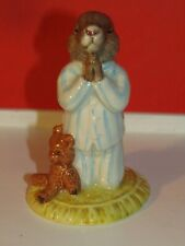 Signed Special Event Royal Doulton 1991 Bedtime Bunnykins Figurine Db55