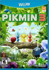 Pikmin 3 - Original Cover [Nintendo Wii U, NTSC, Strategy, Shigeru Miyamoto] NEW