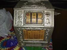 a old fashion gumball slot machine