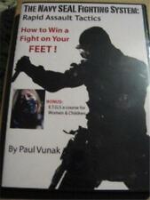 Paul Vunak How to Win a fight on your feet Dvd Jkd Inosanto Jeet Kune Do Kali
