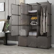 12 Cube Closet Wardrobe Modular Storage Organizer Clothes CD Shoe Bookcase Unit
