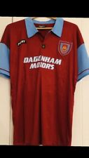 Retro West Ham United Football Shirt 1995/97 Size Large Immaculate Condition