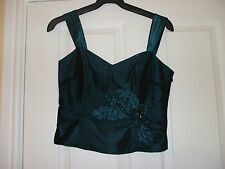 Per Una Women's Party Polyester Vest Top, Strappy, Cami Tops & Shirts
