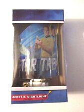 Star Trek Night Light New! Captain Kirk, Spock & U.S.S. Enterprise