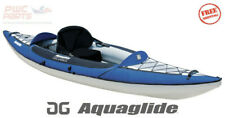 AQUAGLIDE COLUMBIA XP1 XP 110 1 Person Inflatable Touring Kayak Blue 58-4118114