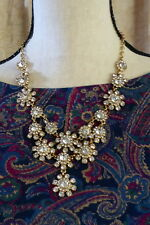 J Crew FACTORY crystal stone drops necklace $56.50 NEW