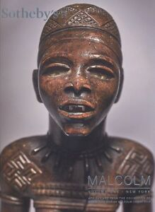 Sotheby's 2 X  African Art Malcolm  Collection Paris & New York 2016 HB