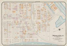 1913 CHAS. E. GOAD, MONTREAL, CANADA, ST. PAUL'S CHURCH & ACADEMY COPY ATLAS MAP