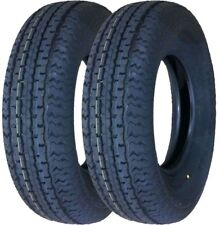 2 New Premium Grand Ride Trailer Tires ST205 75R14 / 8PR Load Range D - 11079