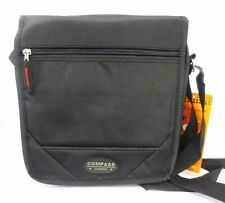 Compass Flap Over Shoulder Bag Sd47 Bk