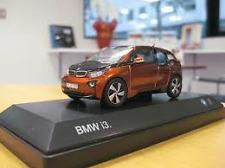 BMW Genuine OEM Miniature 1:43 i3 orange (i01) 80-42-2-320-105