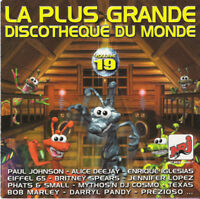 Compilation CD La Plus Grande Discothèque Du Monde Vol.19 - France (EX+/EX+)