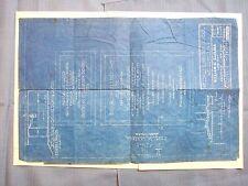 BLUEPRINT 1939 BROOKLYN ELEMENTARY SCHOOL FEDERAL PUBLIC WORKS WELLSVILLE ELEMEN