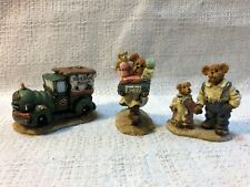 Boyds Bearly Bulit Villages Accessories Ted E Bear Shop Folk 19501-1