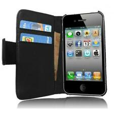 IPhone 4 4S Buch Tasche Hülle Flip Case Schutzhülle Etui Wallet Edel