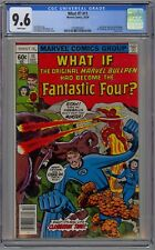 What If #11 CGC 9.6 NM+ Wp Marvel Bullpen Had Become FF 1978 Stan Lee Cover +
