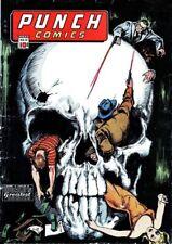 Punch Comics #12 Photocopy Comic Book