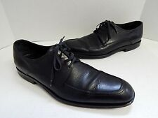 Salvatore Ferragamo 9 D Black Leather Dress Oxfords Italy