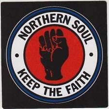 NORTHERN SOUL KEEP THE FAITH PVC AUFKLEBER (MBRPVC021)