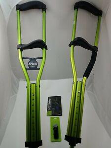 "Dynamo Sport Swings Better Than Crutches L13SMGAXX/2C1 Green 4'6"" x 5'2"""