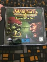 WarCraft II (2) Beyond the Dark Portal Expansion Set Blizzard CD-Rom PC 1996