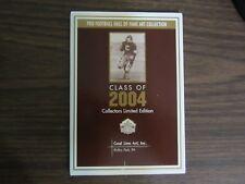 2004 Goal Linr Art Card Set Barry Sanders, John Elway, Carl Eller, Bob Brown