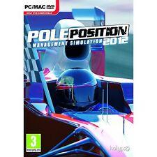 PC Spiel Pole Position - Der Rennsport Manager 2012 12 Formel 1 Neu