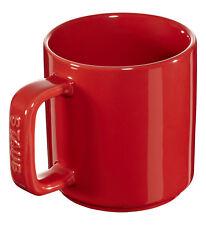 STAUB céramique 4 Set tasse à café gobelet tasse rouge cerise 8 cm