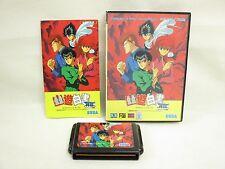 YU YU HAKUSHO GAIDEN Item ref/ccc Mega Drive Sega Import Japan Game md