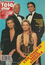 Télé Star N°559 - Santa-Barbara - Robin Wright - Faye Grant - Dick Rivers