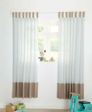 Mamas and Papas Pixie & Finch Boys Curtains 132x160cm Lined TabTop Diamond Print